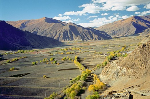 Yarlung Valley, Tibet