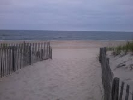 THIS IS OUR BEACH JUST DAYS BEFORE HURRICANE SANDY TOOK IT FROM US.
