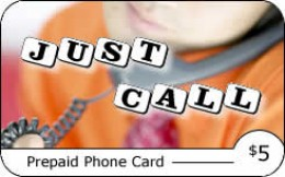 Just Call Phone Card Available Only At Speedy Pin