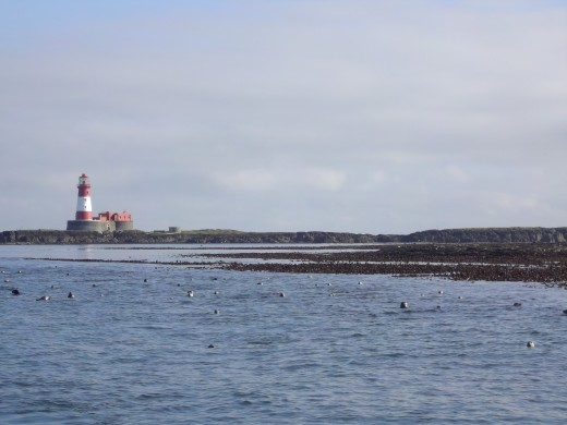 Once home to the famous Grace Darling the Lonstone lighthouse can be seen for miles.