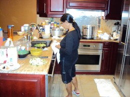 Miracles come from her heart and her kitchen.