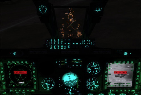 Night Time in the A-10C