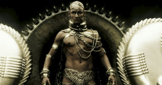 The god Xerves in 300: Rise of an Empire