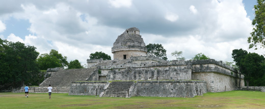 El Caracol (The Snail) a proto-observatory at Chichen Itza.