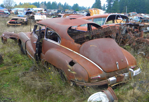"""Rust is beautiful.  She's from 1948."""