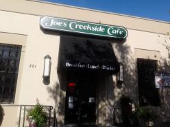 Best cafe in Vacaville, Ca - Great menu Joe's Creekside