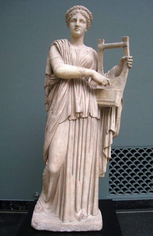 Erato, Muse of love poetry