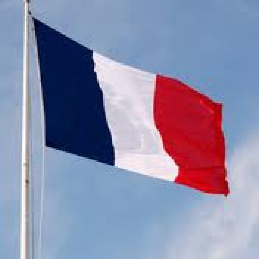 Le  drapeau tricolore. (The French Flag)