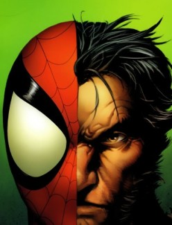 """Random Spider-Man story: Ultimate Spider-Man,Wolverine, the """"Freaky Friday"""" Adventure, 2-parter"""