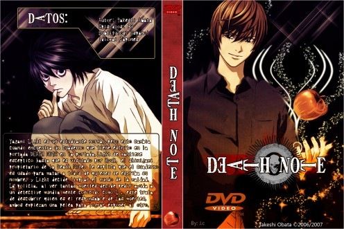 Death Note DVD cover