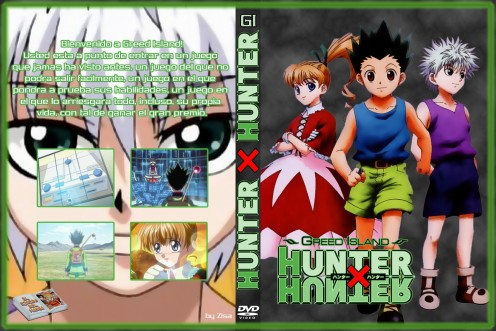 Hunter X Hunter DVD cover