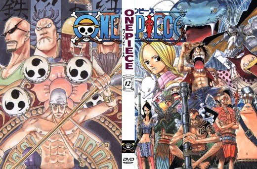 One Piece DVD cover