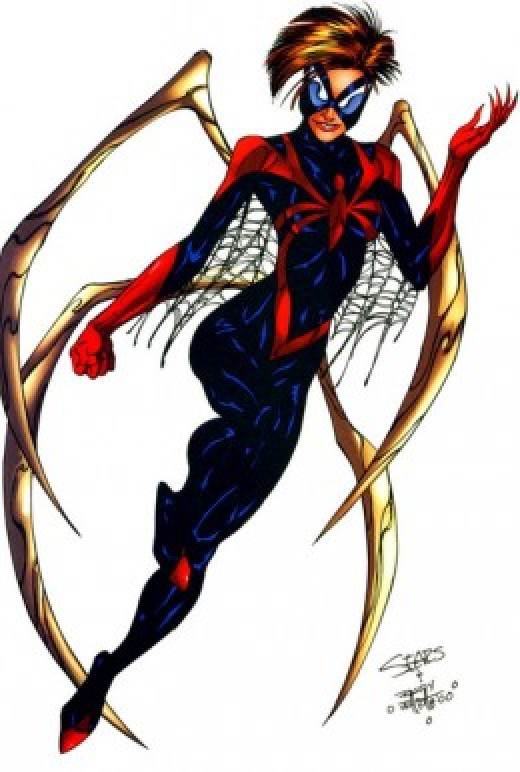 Mattie Franklin Signature Spider Woman Costume