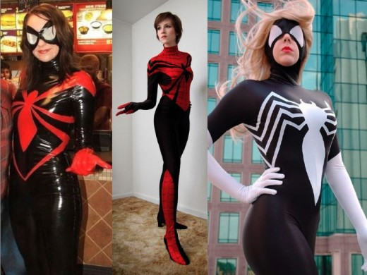 Cosplay Spider Woman Costumes