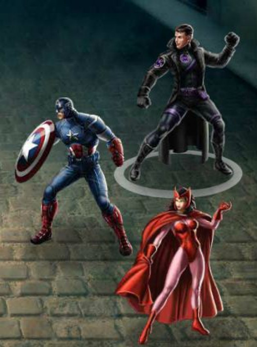 Common PVP Combination (Agent, Capt. America, Scarlet Witch)