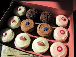 Sprinkles Cupcakes is a popular cupcake choice in Dallas, Texas.