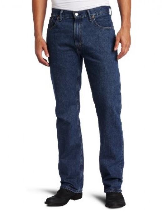 Levi's Men's 559 Blue Jeans