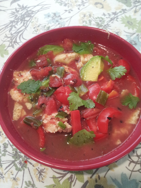 Homemade, easy, and inexpensive--Chicken Tortilla Soup is a warm and tasty meal.