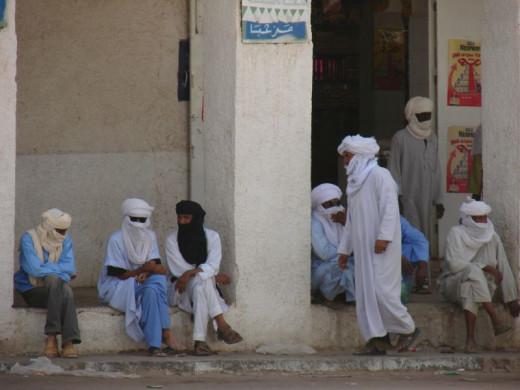 Tuareg tribes people, Djanet