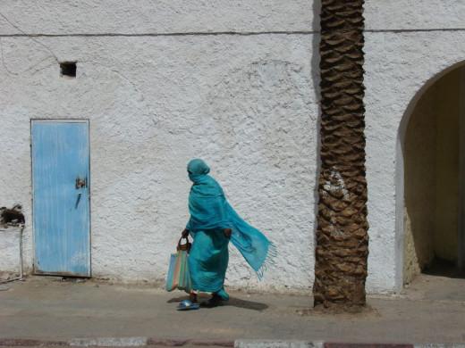 Djanet, oasis in the deep Sahara