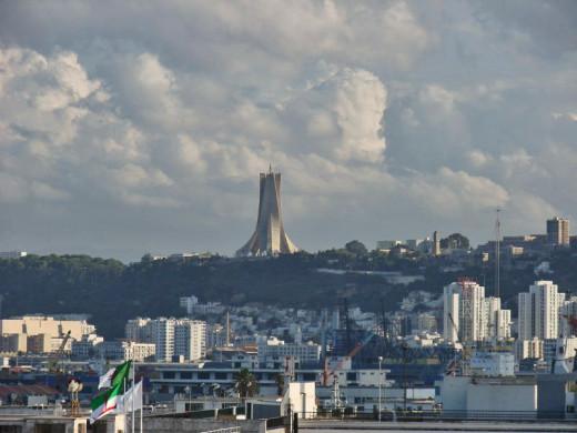 Martyrs Memorial, Algiers