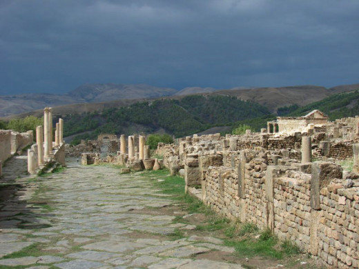 Djemila - the Roman town of Cuicul