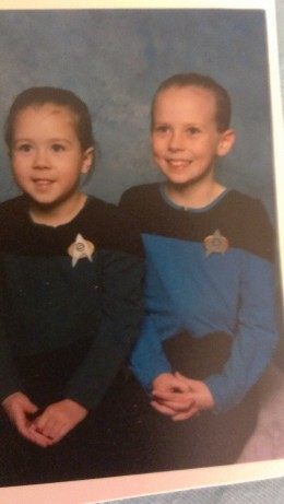 Yes...I had professional pictures taken of my girls in their uniforms...