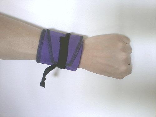 My purple wrap.