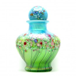 A cremation urn may be chosen as part of one's pre-planning, and enjoyed as a piece of art until it is needed as an urn.