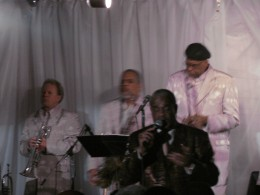 The extremely talented band performed the ultimate versions of The Sylistics greatest hits.