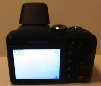 Back of Kodak EasyShare Z5010