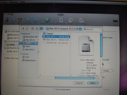 Restoring a OSX dmg from USB drive.