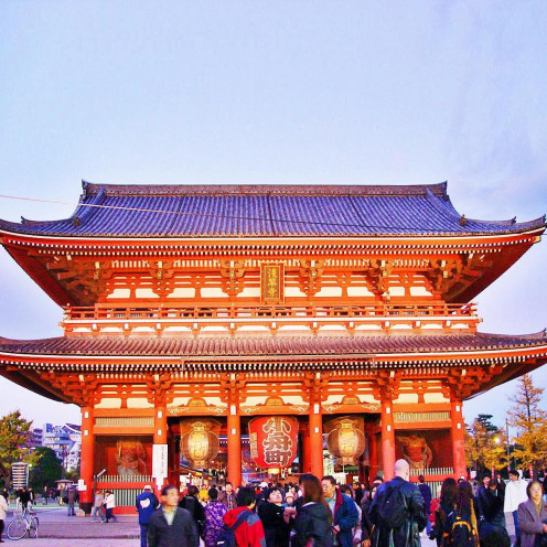 Asakusa Temple: The Popular Seat of all Festivities