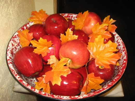 Healthy Recipes For Kids - use fresh apples!
