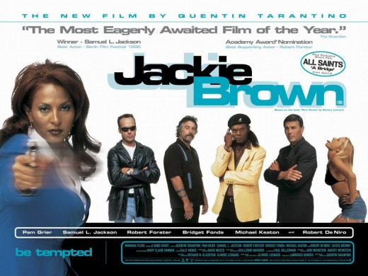 Jackie Brown (1997) UK poster