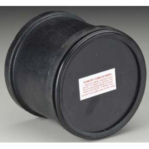 spare rubber barrel for tumbling machine
