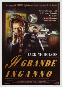 The Two Jakes (1990) Italian poster