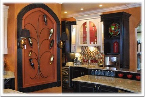 Mediterranean Style Decorating: Creative Ideas for Displaying Wall ...