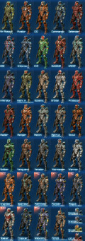 Halo 4 - Spartan Ranking System, Armor Abilities, Armor Variants, and Armor Specializations