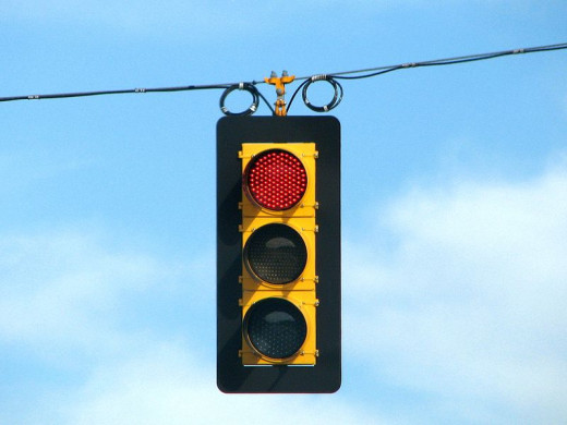 Traffic Lights can dictate your day.