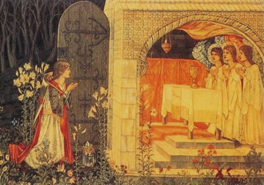 Galahad and the Grail