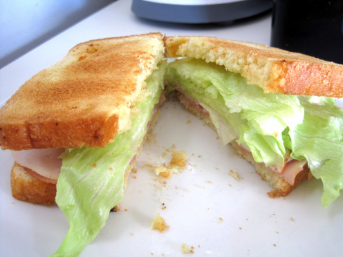 You can make sandwiches as complex or as simple as you like.