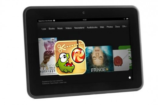 Kinlde Fire HD - a window into Amazon