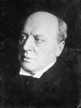 Henry James, whose work is representative of the common 19th century masculine-dominated society of the elite.