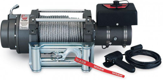 This is a 12K lb winch and for most practical purposes it is extremely overkill.