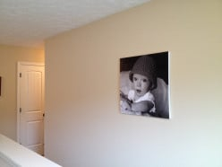 This is the first of 3 photos going in our long open hallway.