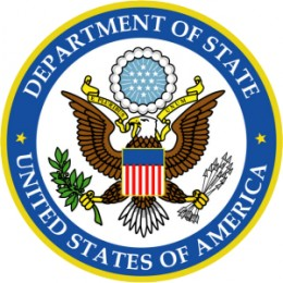 The seal of the United States Department of State
