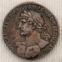 Silver coin of Hadrian