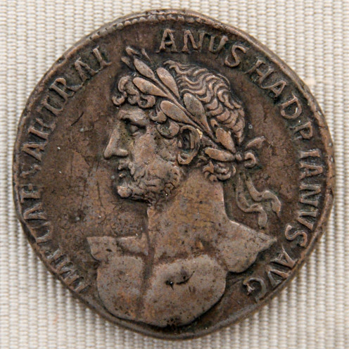 Silver coin of Hadrian
