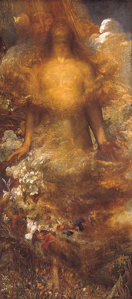She shall be called Woman, By George Frederic Watts (1817-1904)